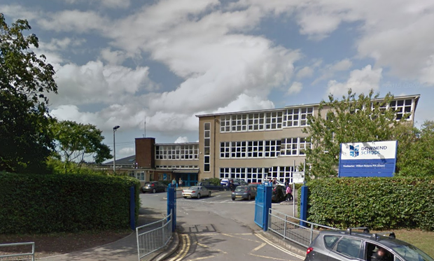 Downend School Credit: Google Maps