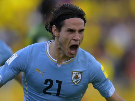 Uruguay international Edinson Cavani