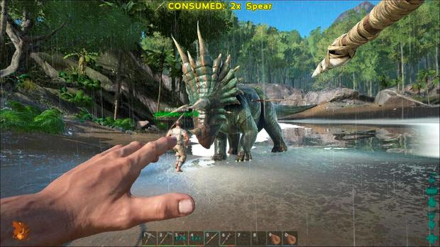 Ark: Survival Evolved - featuring more than 50 dinosaurs