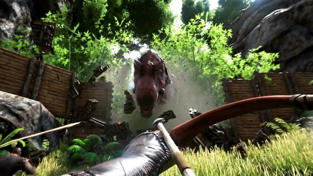 Ark: Survival Evolved - hunting is full of surprises