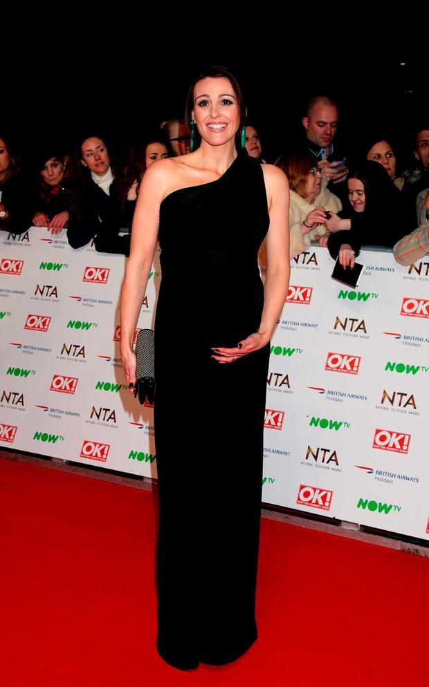 Suranne Jones arriving at the National Television Awards 2016 held at The O2 Arena in London