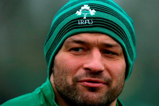 Rory Best is looking forward to leading Ireland out against Wales. Photo credit: Brian Lawless/PA Wire