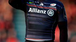 Saracens winger Chris Ashton has been suspended for 10 weeks. Photo credit: Nigel French/PA Wire