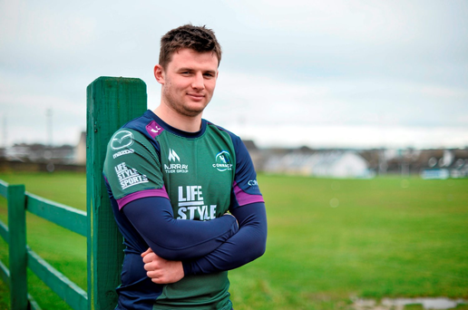 Connacht's Eoghan Masterson: 'We have shown that if we can perform well we can match any side'. Picture credit: David Maher / Sportsfile