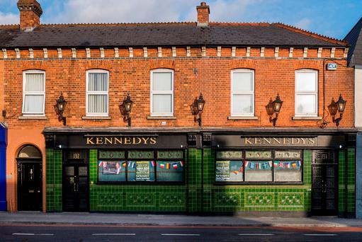 CBRE is guiding €900.000 for Kennedy's in Drumcondra - a favourite of the late PJ Mara