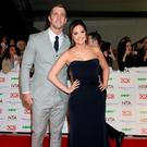Jacqueline Jossa and Dan Osbourne arriving at the National Television Awards 2016 held at The O2 Arena in London. Photo: Yui Mok/PA Wire jaclyn josser