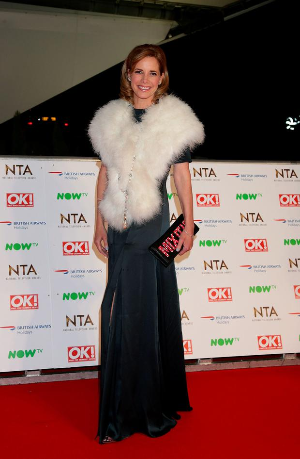 Darcey Bussell arriving at the National Television Awards 2016 held at The O2 Arena in London. Photo: Yui Mok/PA Wire