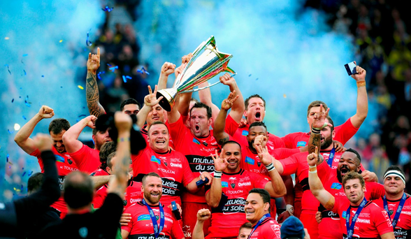 Toulon celebrate their second European crown