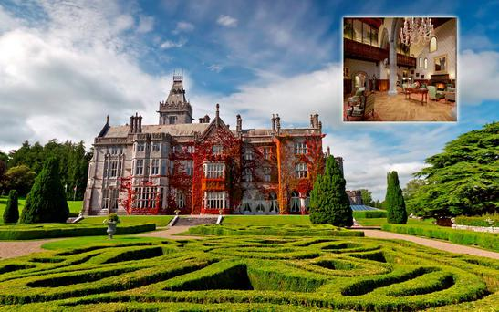 Adare Manor, composite photo. Large Pic: Deposit