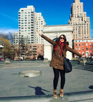 #13weekstill30: Vicki Notaro in Washington Square Park, New York