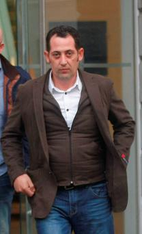 Denis Hanafin, Curry, Athlone road, Longford; who was found not guilty of assault of Timothy Nevin in Kilmallock Mart at Limerick Circuit court Credit: Liam Burke/Press 22