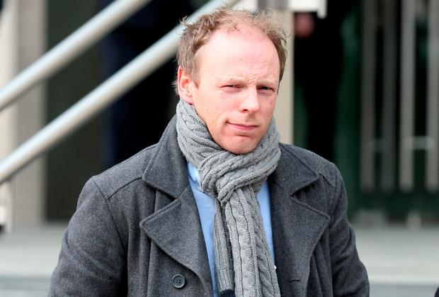 Radio DJ Jeremy Dixon pictured leaving the Dublin District Court