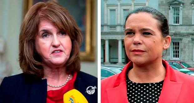 The confrontation between the two long-time rivals came during a heated Dáil exchange