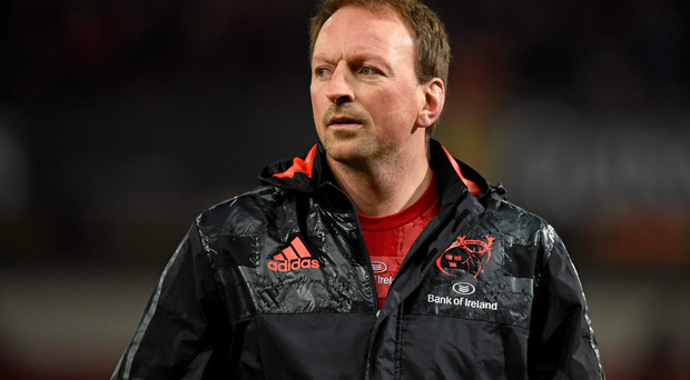 Munster assistant coach Mick O'Driscoll Photo: Sportsfile