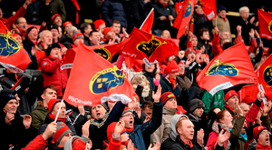 Anthony Foley wants to hear the Munster supporters in full voice