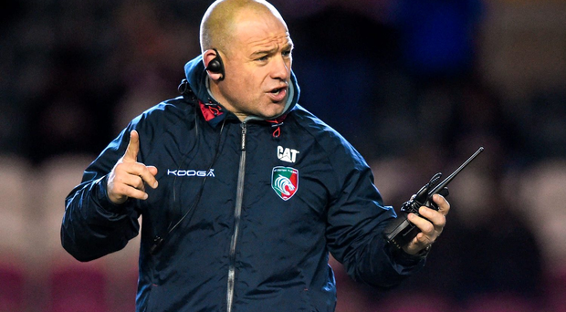 2Leicester Tigers director of rugby Richard Cockerill Photo: Sportsfile