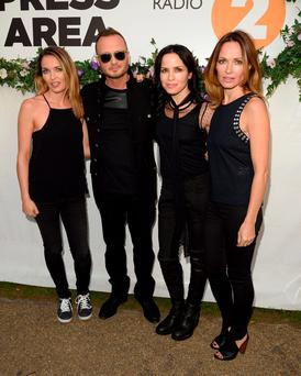 Comeback queens and king: The Corrs announced their return to the music industry with a new album and tour in 2015