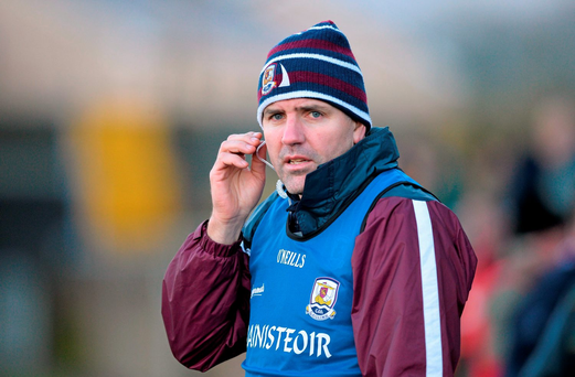Kevin Walsh is set to field a relatively inexperienced Galway team against Roscommon in Tuam (SPORTSFILE)