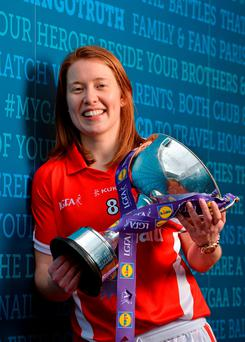 Cork's Rena Buckley in Croke Park (SPORTSFILE)