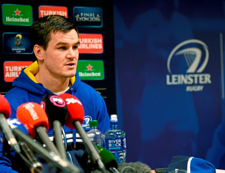 Jonathan Sexton believes he has turned a corner after Ireland's World Cup disappointment (SPORTSFILE)