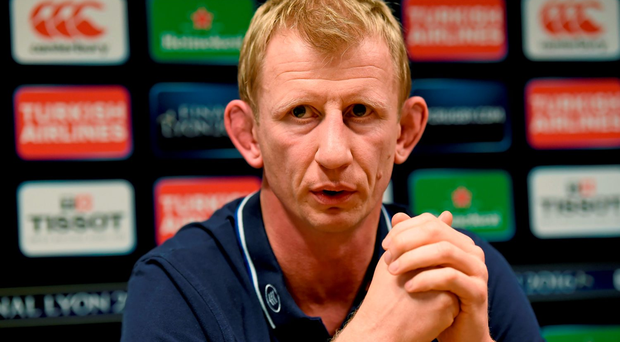 Leinster head coach Leo Cullen Photo: Sportsfile