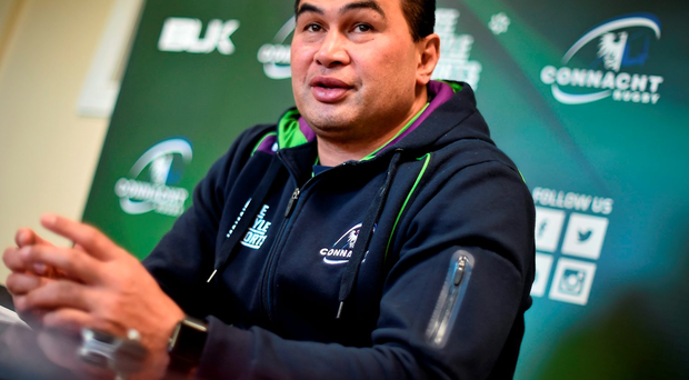 'Pat Lam said he would be putting his best hand forward for the encounter with the Russian newcomers' Photo: Sportsfile