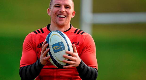 Andrew Conway has signed a new deal with Munster