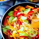 Frying vegetables is healthier than boiling research has shown.