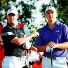 Rory McIlroy and Jordan Spieth