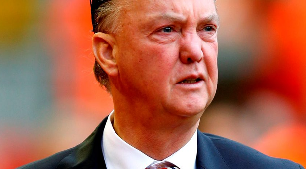Louis Van Gaal has said there's no way that Pep Guardiola is getting his job. Photo: Peter Byrne/PA Wire