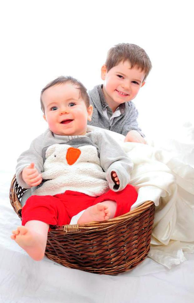 Reuben (R) and and his brother Roscoe (L) CreditL Education Equality