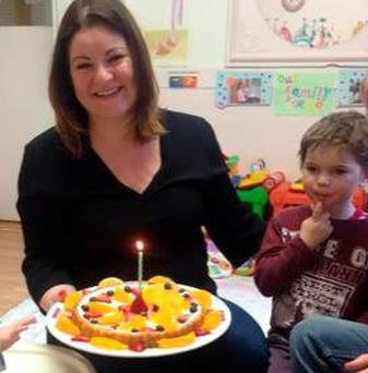Nikki Murphy has received nine rejection letters from local schools for son Reuben (R) Credit: Education Equality