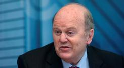 The Minister for Finance Michael Noonan T.D.