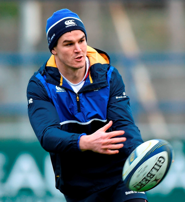 Jonathan Sexton will captain Leinster for the first time in his career Photo:Sportsfile