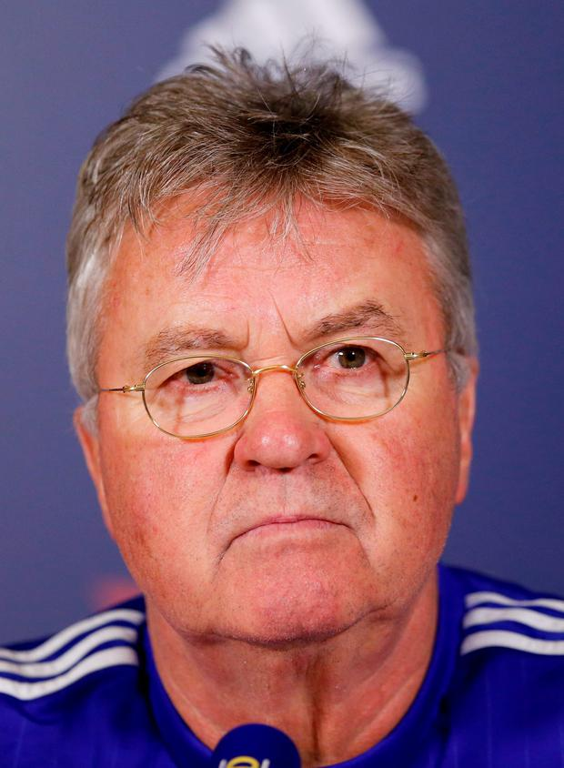 """Guus Hiddink has provided some of the """"stability"""" he admires in Arsenal Photo:Reuters"""