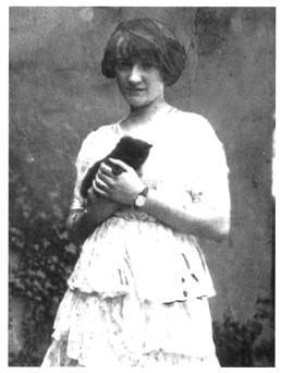 Grace Gifford, who married Joseph Plunkett on the eve of his execution.