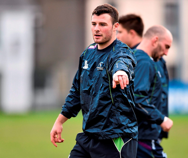 'Connacht's Robbie Henshaw was declared fit to play yesterday' Photo:Sportsfile