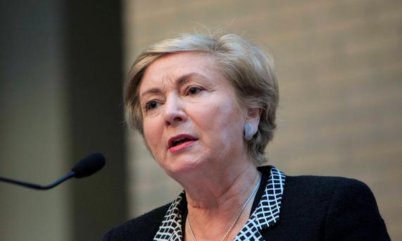 The slow progress of change is just the latest issue to beset embattled Justice Minister France Fitzgerald (p) Photo: Gareth Chaney/Collins