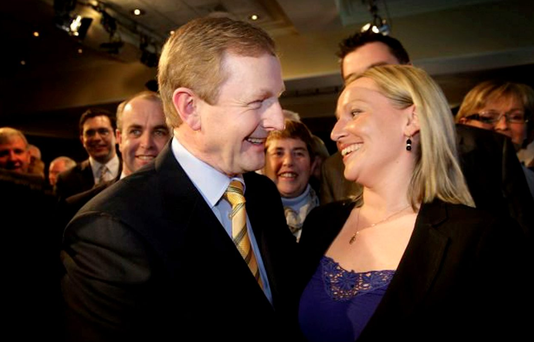 Let's try again, for the sake of the country: Renua has eased off on the Government attacks recently. So will Enda Kenny and Lucinda Creighton get back together again? Photo: Gerry Mooney