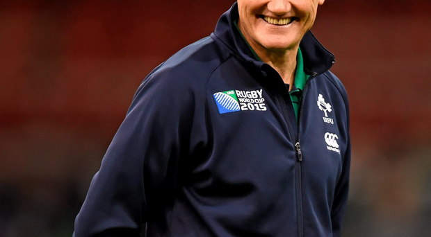 'The squad Joe Schmidt has named is relatively fresh-looking and well balanced.' Photo:Sportsfile