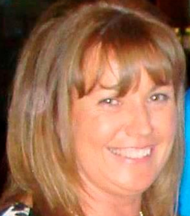 Victim: Lorna Carty was shot dead