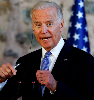 US Vice President Joe Biden Photo: REUTERS/Murad Sezer