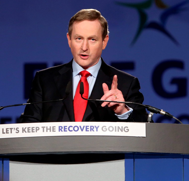 Enda Kenny's promise is made to appeal to 'Middle Ireland' voters Photo: Sam Boal / Rollingnews.ie