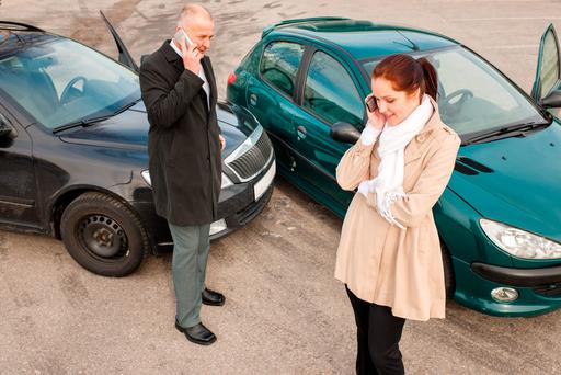 Bogus: Fraudulent claims, like the 'staging' of accidents, add €50 to the cost of every motor policy Stock photo: CandyBox Images