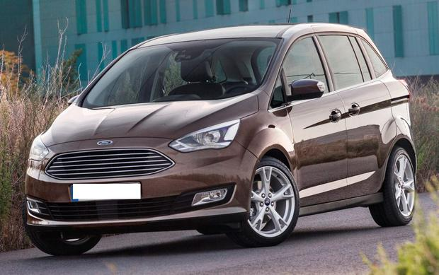 The Ford Grand C-Max may not be the most stylish, but the accessible rear seats are a boon