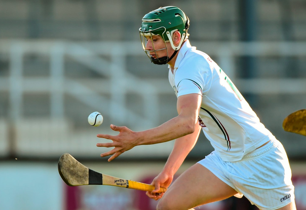 Kildare's Niall Kenny had netted three goals for Maynooth Uni. Photo: Matt Browne / SPORTSFILE