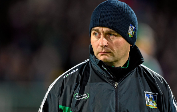 Limericak manager TJ Ryan saw his side beat by a young Clare team. Photo: Brendan Moran / SPORTSFILE