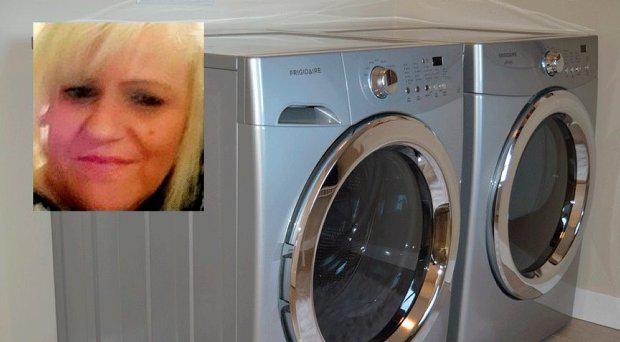 Susanne Hinte (inset) claims she accidentally washed the winning ticket in a pair of jeans