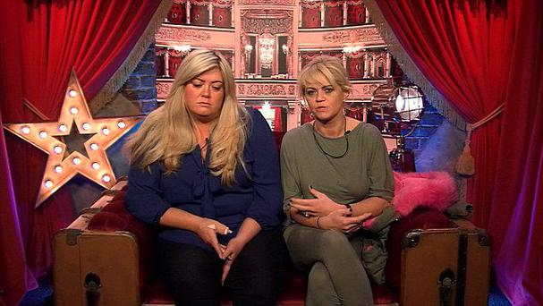 Celebrity Big Brother: Gemma and Danniella in the diary room