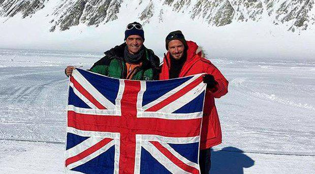 David Beckham has joined those paying tribute to the polar explorer Henry Worsley